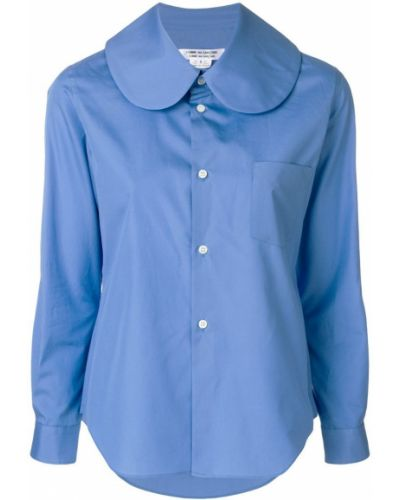 Рубашка хлопковая синяя Comme Des Garçons Comme Des Garçons
