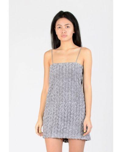 Вечернее платье - серое Kriza