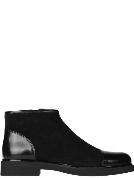 Ботинки осенние кожаные замшевые Loriblu