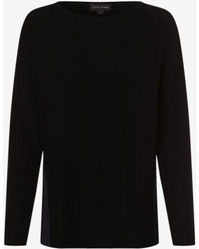 Niebieski sweter dzianinowy Franco Callegari