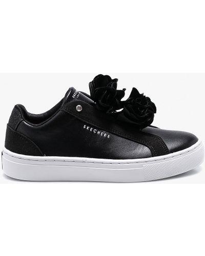 Кроссовки черные Skechers