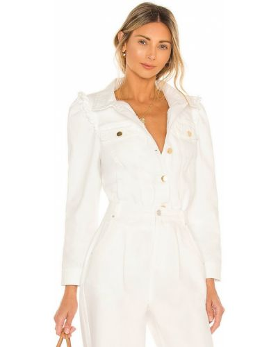 Белая куртка с карманами Generation Love
