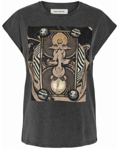 T-shirt - czarna Sofie Schnoor
