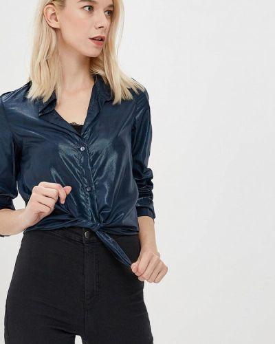 Рубашка с длинным рукавом синяя Custo Barcelona