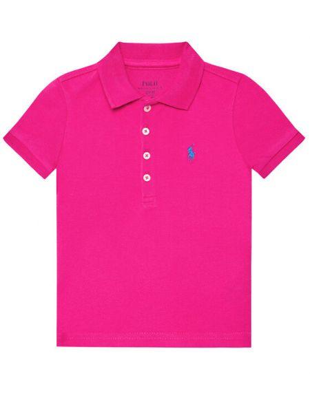 Różowe polo Polo Ralph Lauren