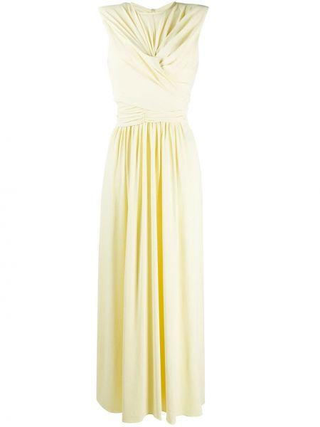 Платье без рукавов - желтое Isabel Marant