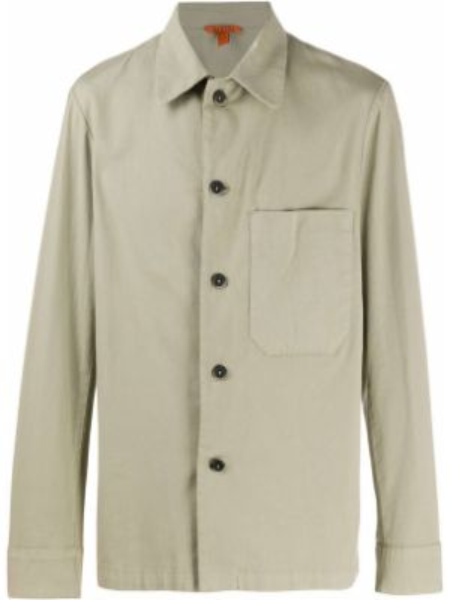 Koszula z długim rękawem klasyczna z kieszeniami Barena