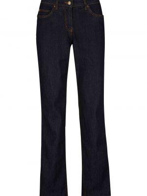 Прямые джинсы классические стрейч Bonprix