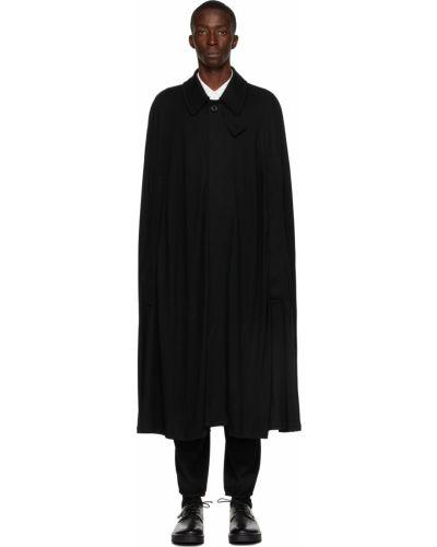 Narzutka bez rękawów - czarna Yohji Yamamoto