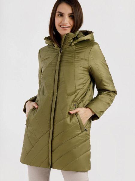 Утепленная куртка - зеленая Finn Flare