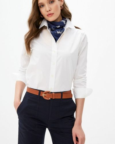 Рубашка с длинным рукавом - белая Lauren Ralph Lauren