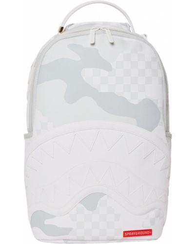 Biały plecak Sprayground