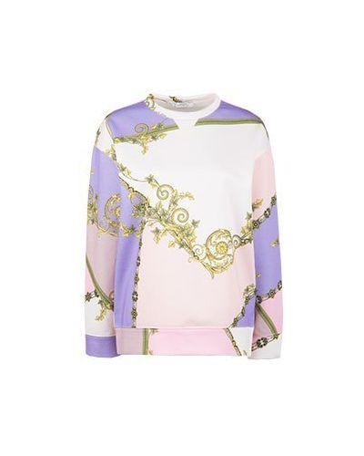 Свитшот розовый Versace Collection