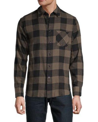 Klasyczna klasyczna koszula bawełniana z długimi rękawami Rag & Bone