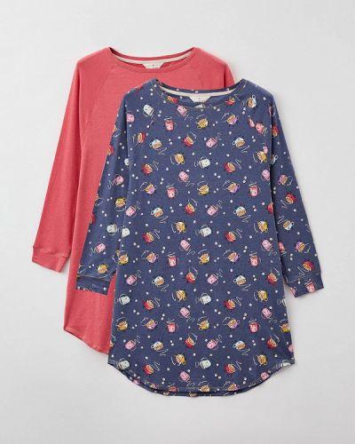 Разноцветное платье - синее Marks & Spencer