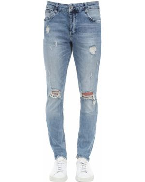 Niebieskie jeansy bawełniane Other