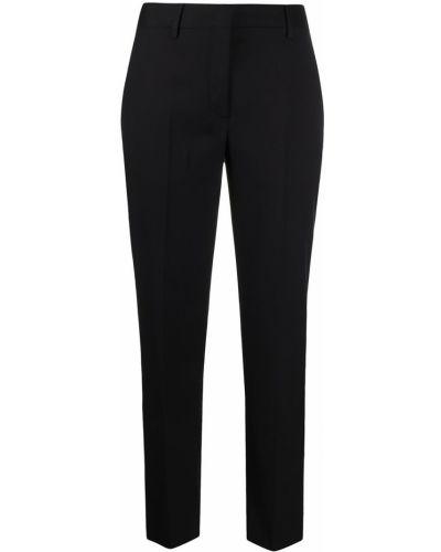 Прямые черные брюки с карманами Paul Smith