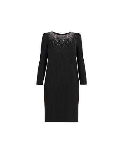 Платье из полиэстера - черное Elisa Fanti