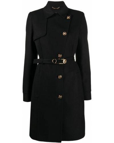 Płaszcz wełniany Versace