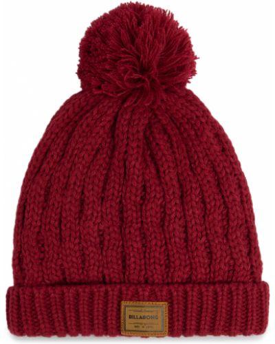 Czerwona czapka z akrylu Billabong