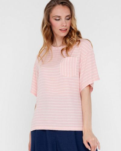 Розовая футболка с короткими рукавами Gregory