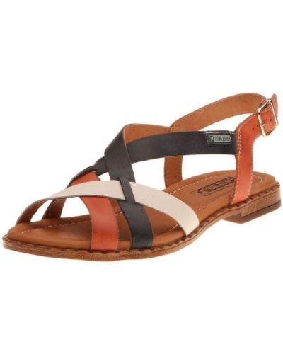 Кожаные сандалии - белые Pikolinos