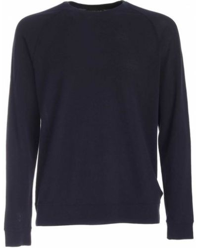 Czarny sweter Zanone