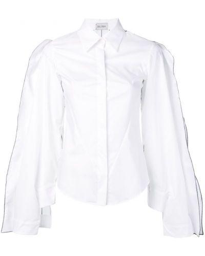 Классическая классическая рубашка с оборками Balossa White Shirt