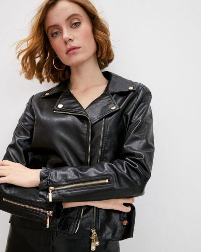 Черная кожаная куртка Blugirl Folies