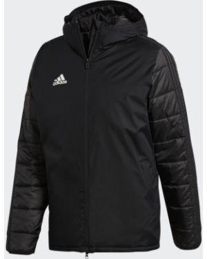 Куртка с капюшоном утепленная стеганая Adidas