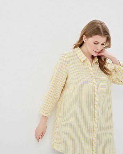 Рубашка желтый индийский Junarose