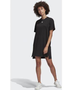 Платье мини футболка спортивное Adidas