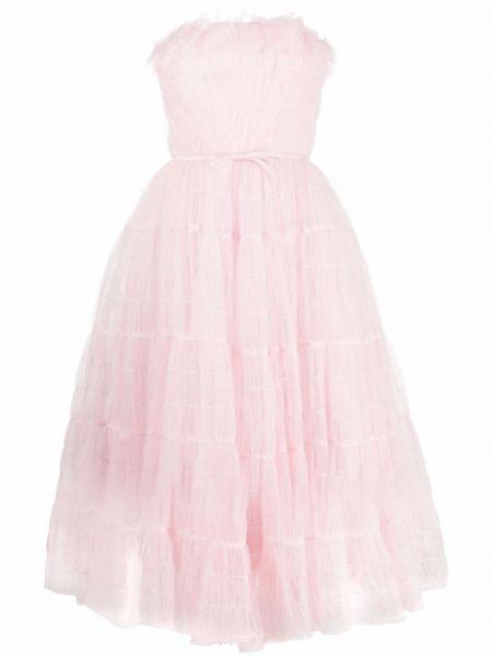 Платье миди - розовое Giambattista Valli
