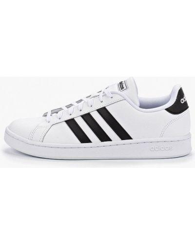 Низкие кеды белые кожаный Adidas