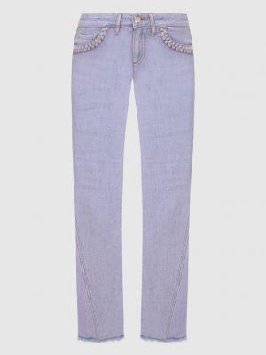 Фиолетовые джинсы See By Chloé