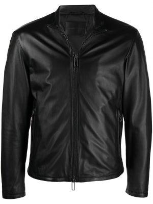 Długa kurtka, czarny Emporio Armani