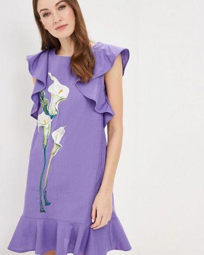 Платье индийский фиолетовый Indiano Natural