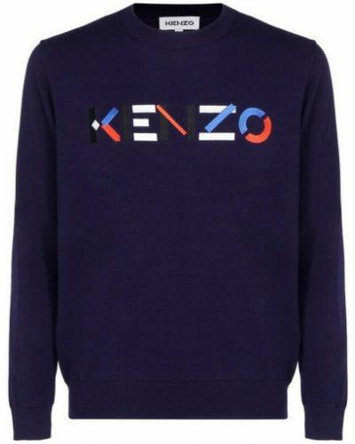 Sweter oversize - niebieski Kenzo