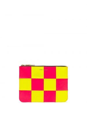 Złoty portfel - żółty Comme Des Garçons Wallet