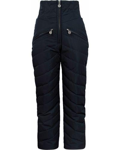 Синие утепленные брюки Naumi