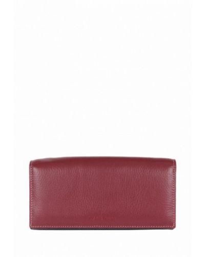 Красный кожаный кошелек De Esse