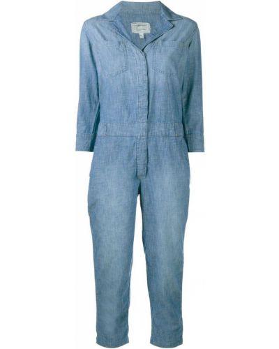 Синий джинсовый комбинезон Current/elliott