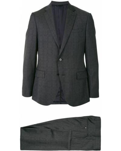 Классический костюм классический с лацканами на пуговицах с карманами D'urban