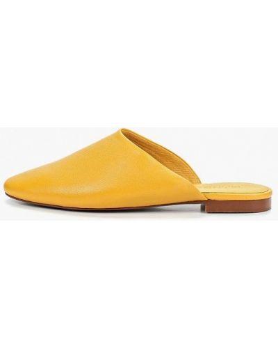 Сабо кожаные Mango