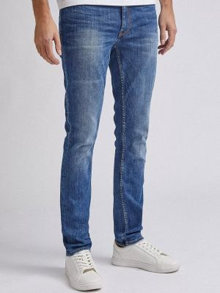 Зауженные джинсы - голубые Burton Menswear London