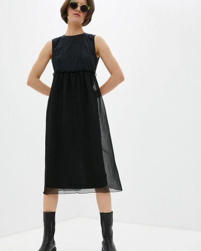Повседневное черное платье Bikkembergs