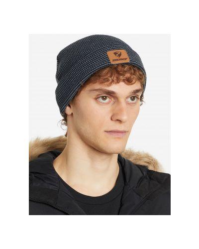Вязаная шапка - синяя Ziener