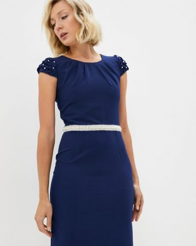 Прямое платье - синее Aelite