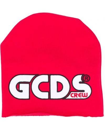 Красная хлопковая шапка бини Gcds Kids