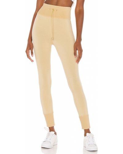 Żółte spodnie bawełniane Selkie